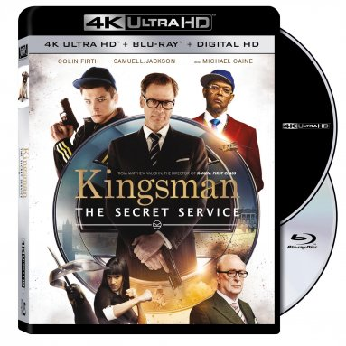Kingsman UltraHD Blu-ray